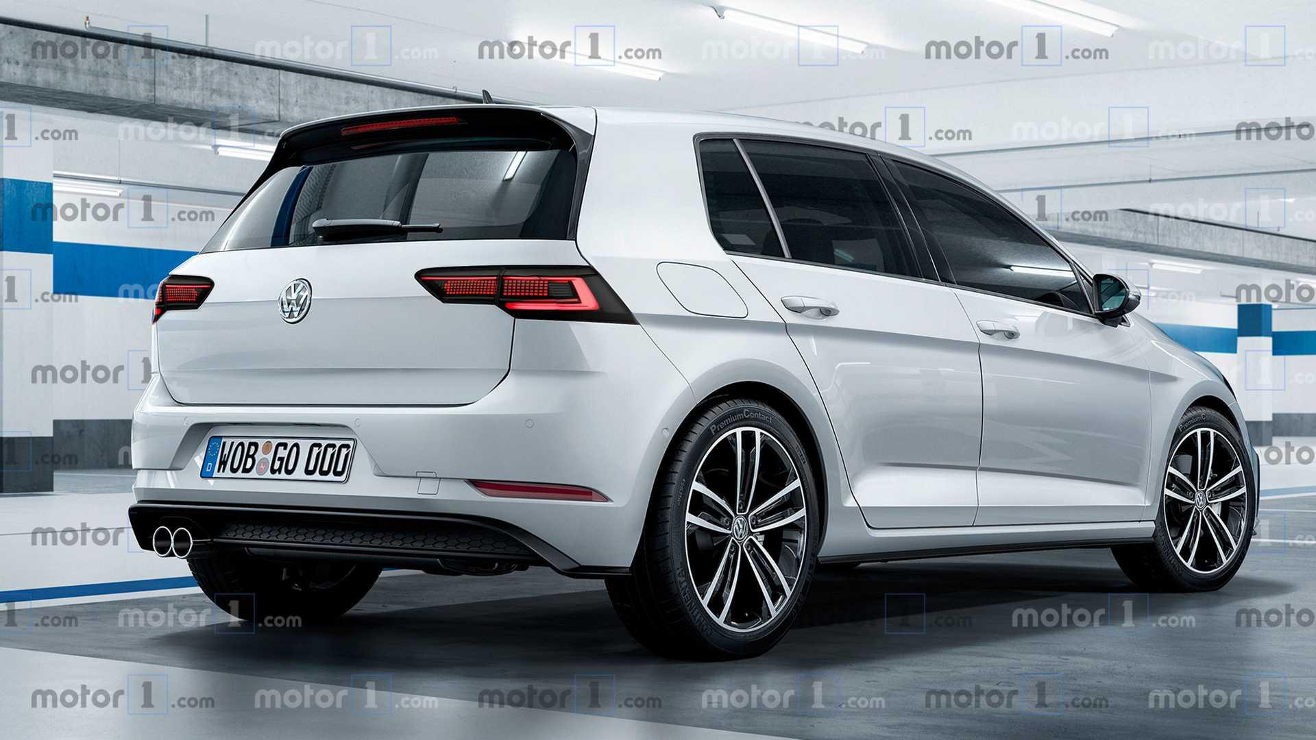 O novo Volkswagen Golf está a chegar e poderá ter este visual