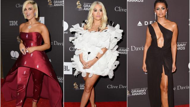 Elegância, glamour e ousadia: Os looks que brilharam na gala Clive Davis