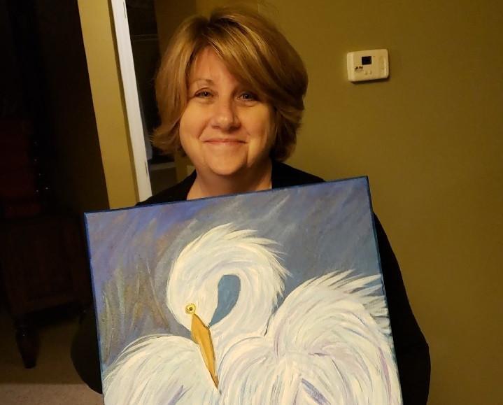 Publicou um quadro pintado pela mãe. Sem querer, criou um fenómeno online