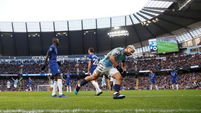 Manchester City humilha Chelsea com goleada histórica