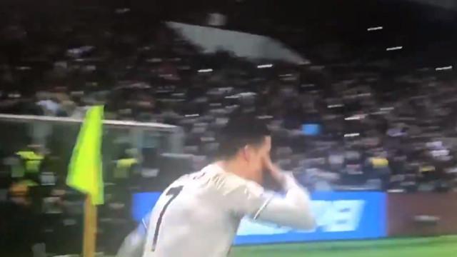 Ronaldo voltou a marcar, mas atenção... porque há novo festejo