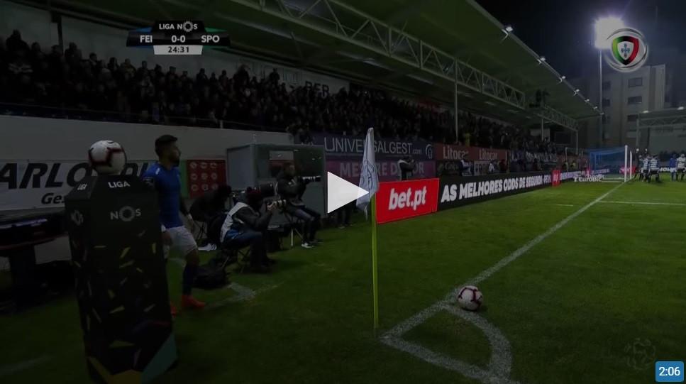 VAR anula um golo aos trambolhões do Feirense