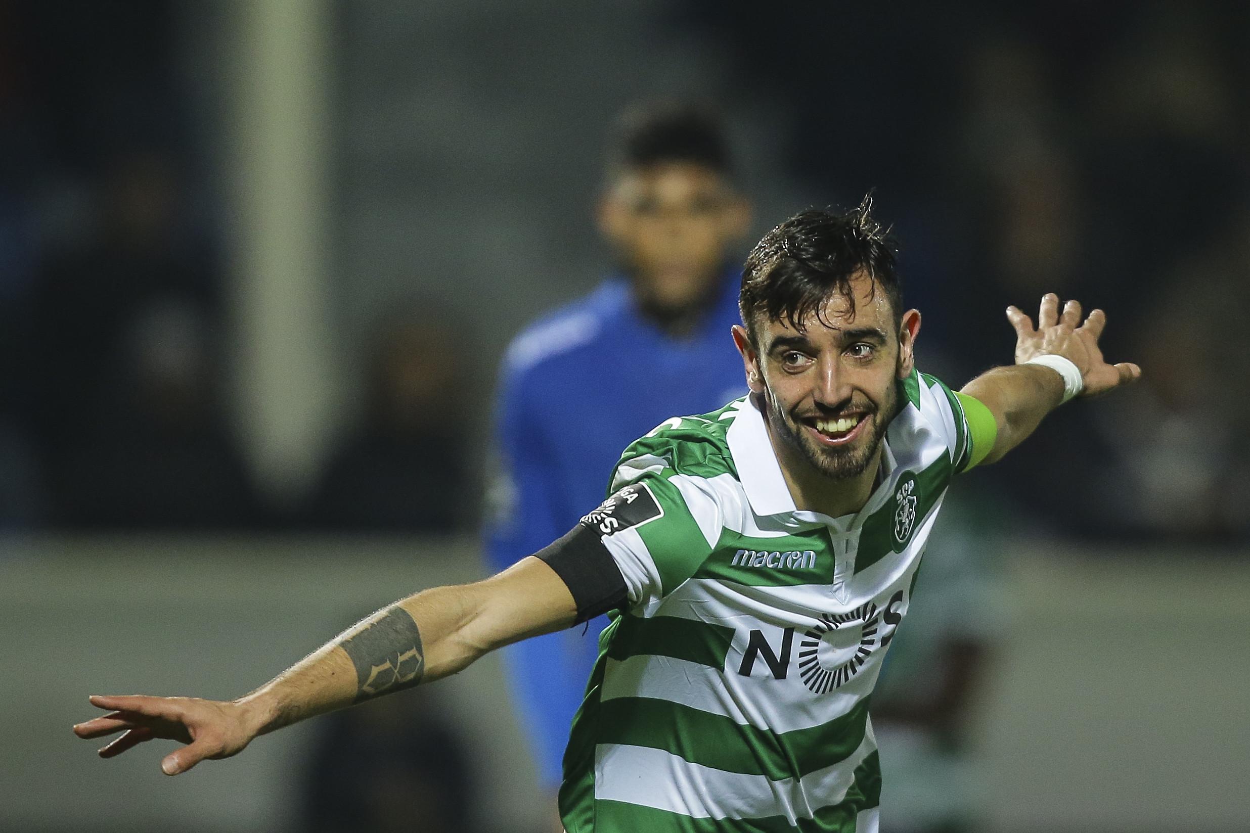 Sporting pretende dar novo contrato a Bruno Fernandes