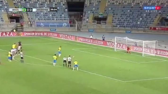 Sub-20 brasileiros vencem com penálti de deixar os nervos em franja