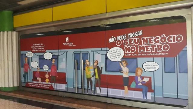 Metro de Lisboa procura parceiros para dinamizar estações