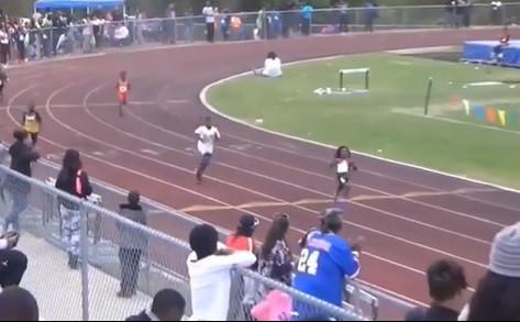 Blaze é o menino de 7 anos que todos dizem ser o próximo Usain Bolt