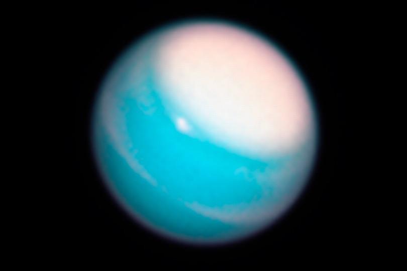 Telescópio Hubble capta imagens de tempestade gigante em Úrano