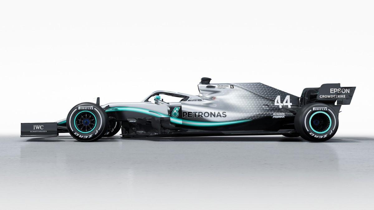 Formula 1: Mercedes revela o monolugar para 2019