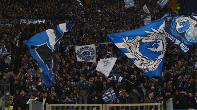 Adeptos do FC Porto detidos em Roma por agressão a agentes da polícia