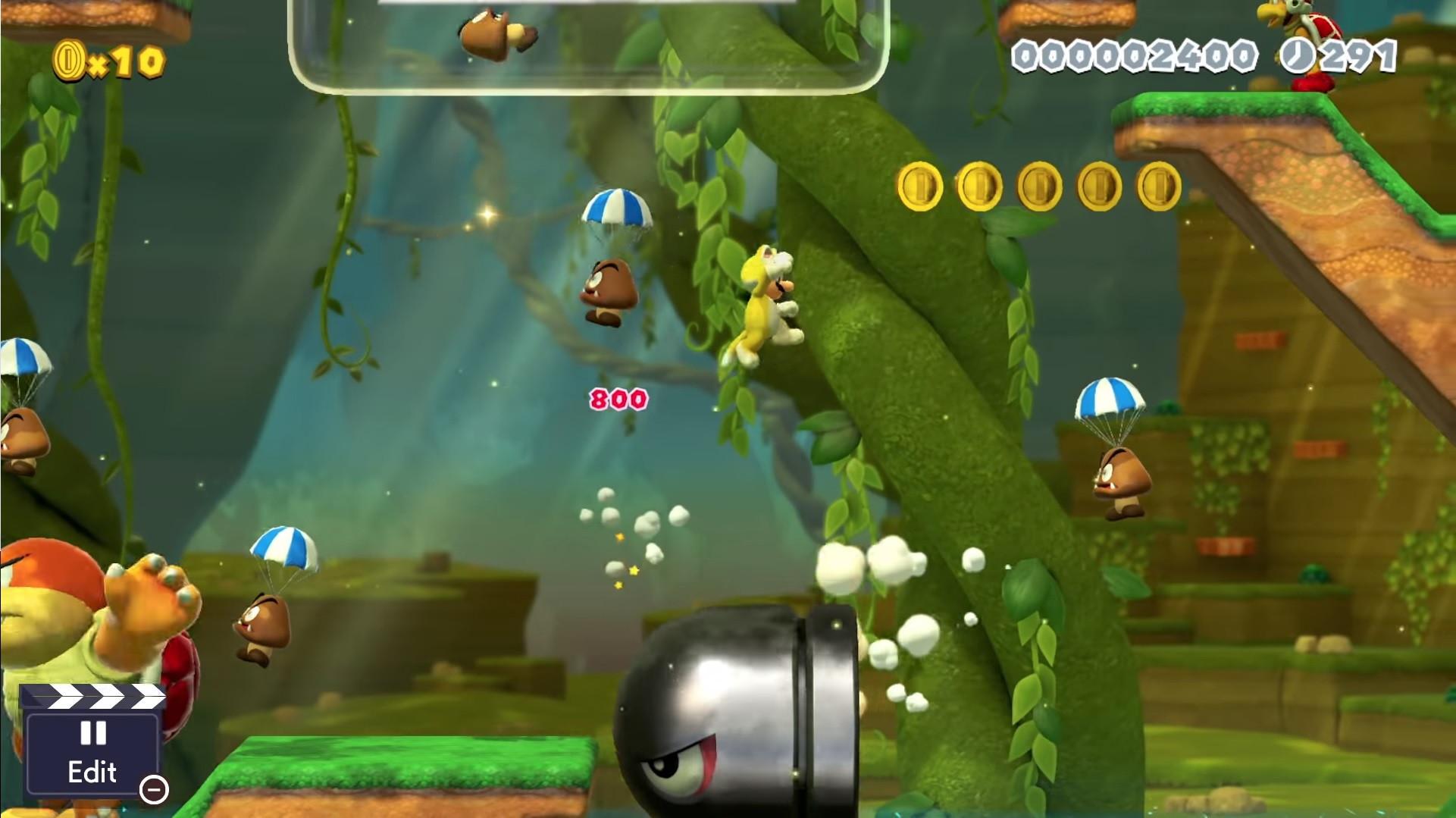 Vai poder criar os seus próprios níveis de 'Super Mario' na Switch