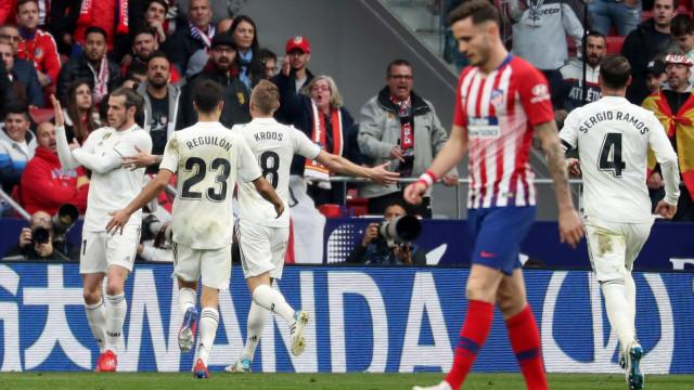 Festejo polémico de Bale pode valer até 12 jogos de suspensão