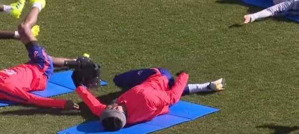 Diego Costa volta a fazer das suas no treino do Atlético de Madrid