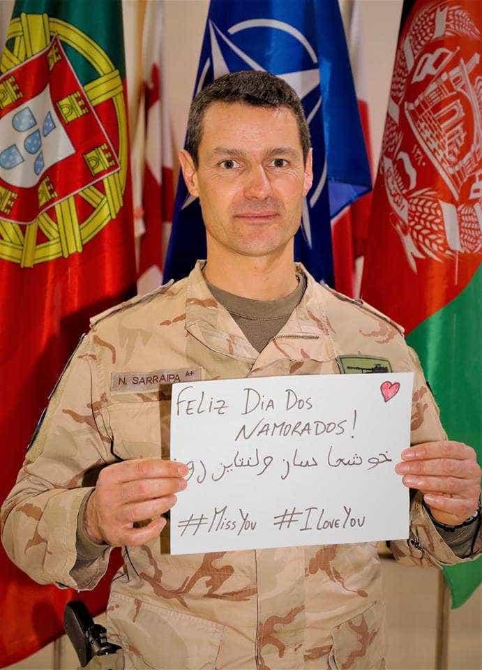 Do Mundo para Portugal, as mensagens de amor das Forças Armadas