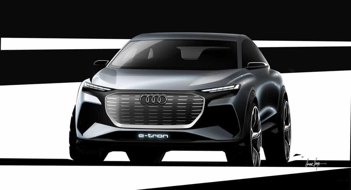 Audi partilhou imagens do 'concept' do seu próximo carro elétrico