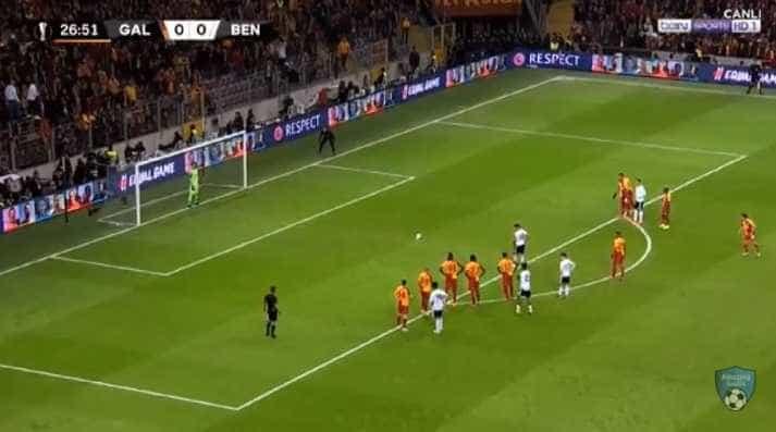 Penálti de Salvio adianta o Benfica na Turquia