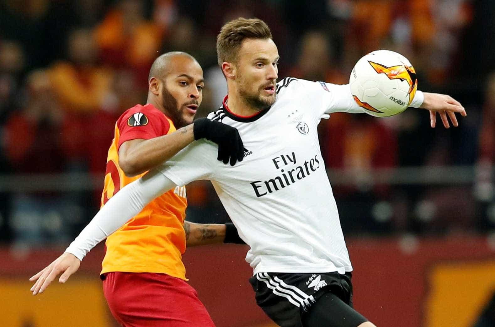 [0-1] Galatasaray-Benfica: Salvio adianta os encarnados!