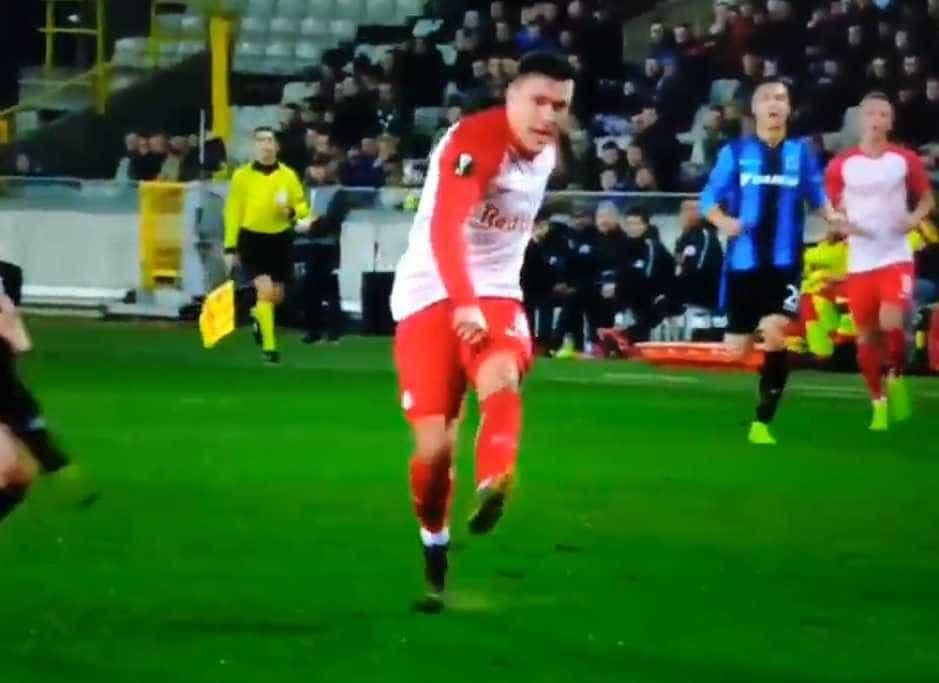 Este golo de Junuzovic é um dos melhores desta noite de Liga Europa