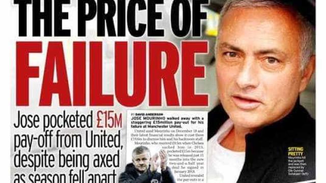 Lá fora: O preço de Mourinho e as revelações deRibéry