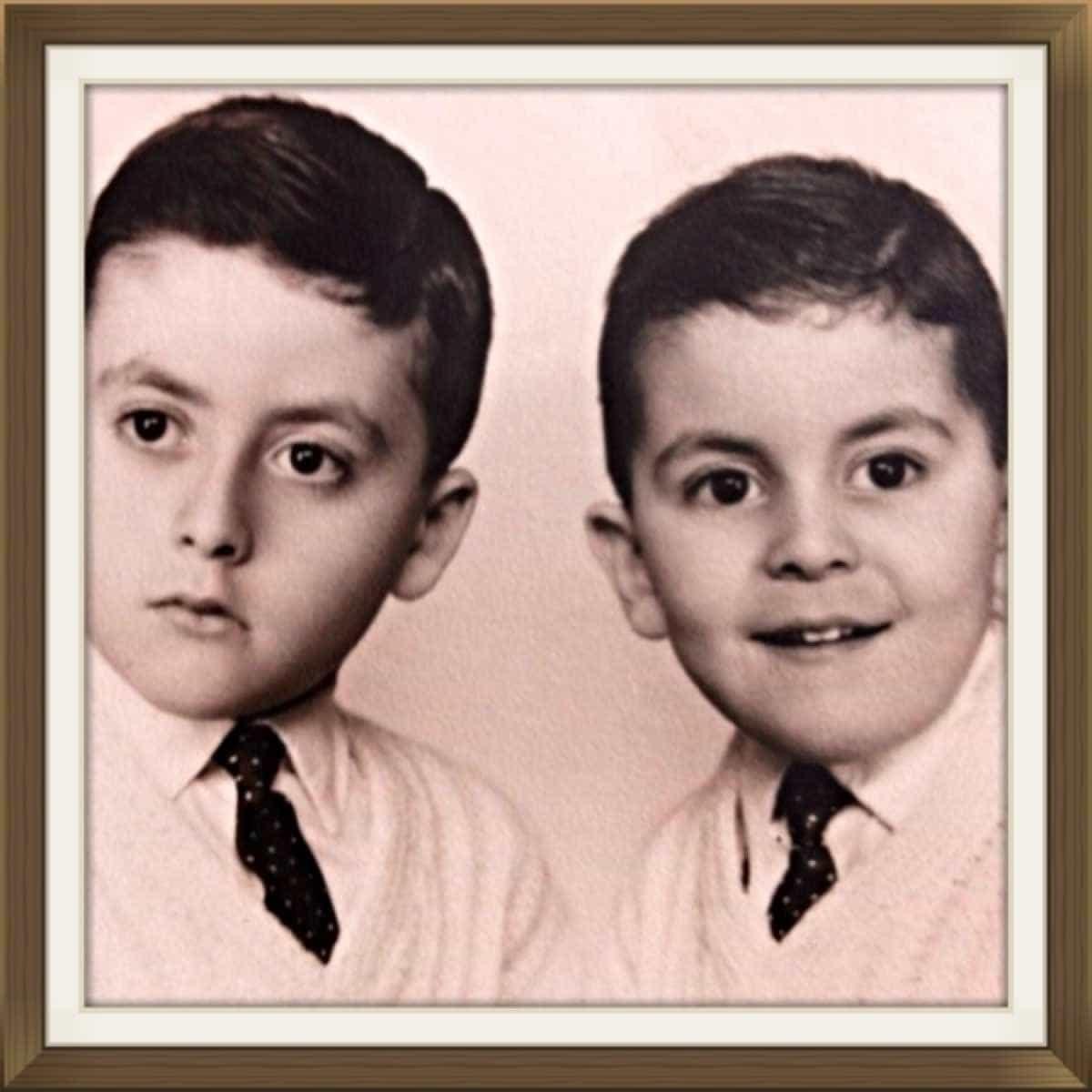 """Manuel Luís Goucha partilha rara foto com o irmão: """"Nada parecidos"""""""