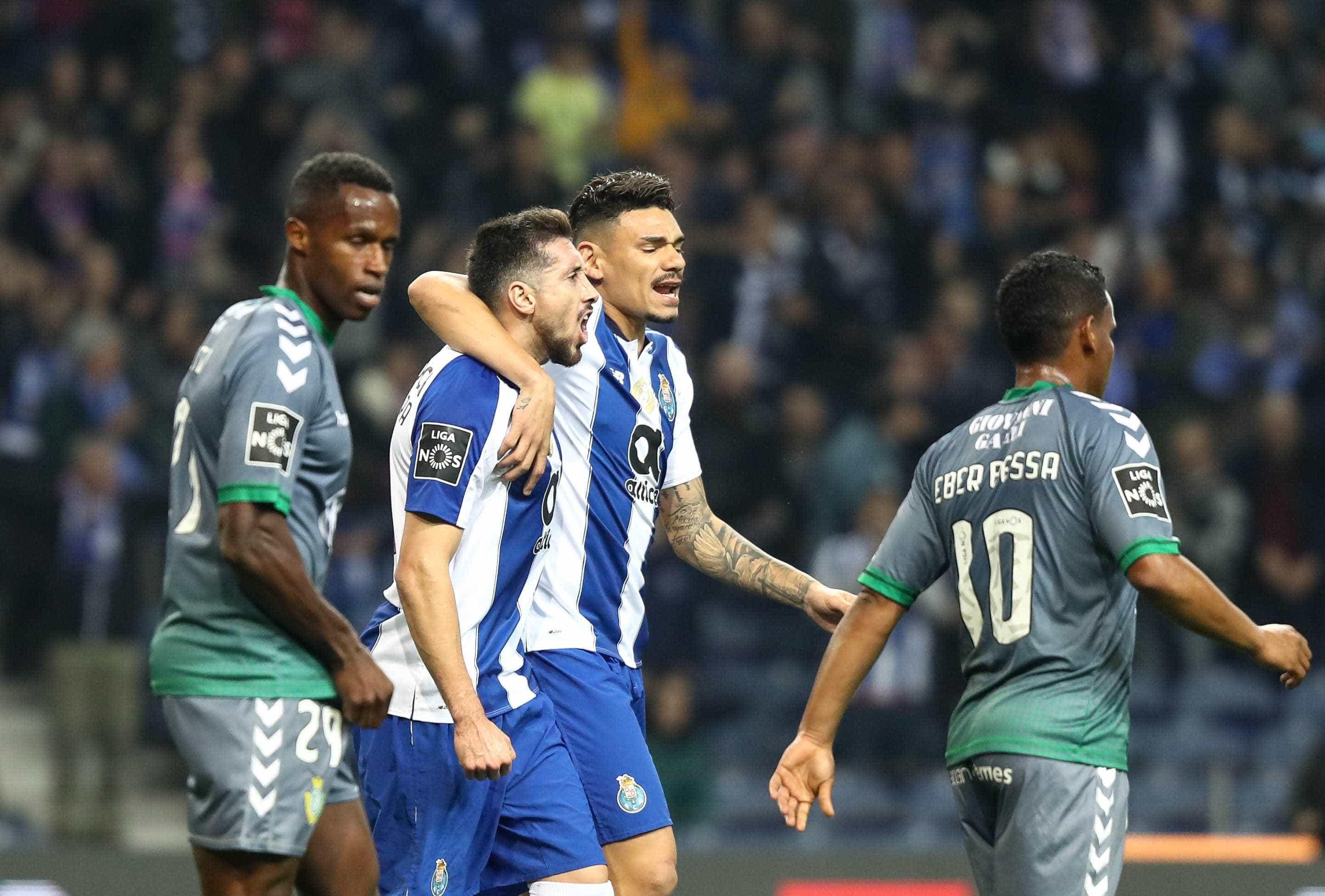 [1-0] FC Porto-V. Setúbal: Intervalo no Estádio do Dragão