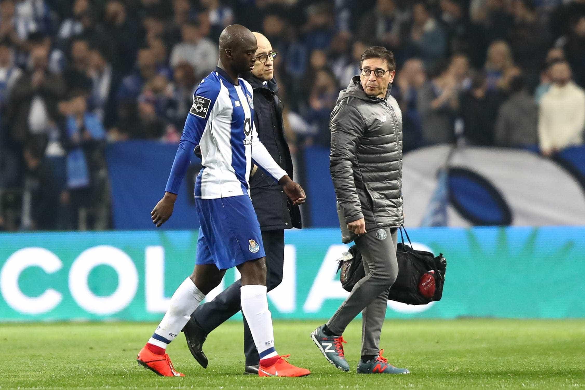 FC Porto já revelou a lesão sofrida por Danilo