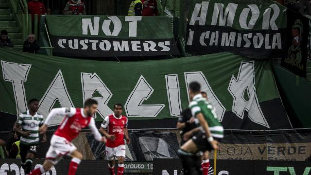 [1-0] Sporting-Sp. Braga: Intervalo em Alvalade