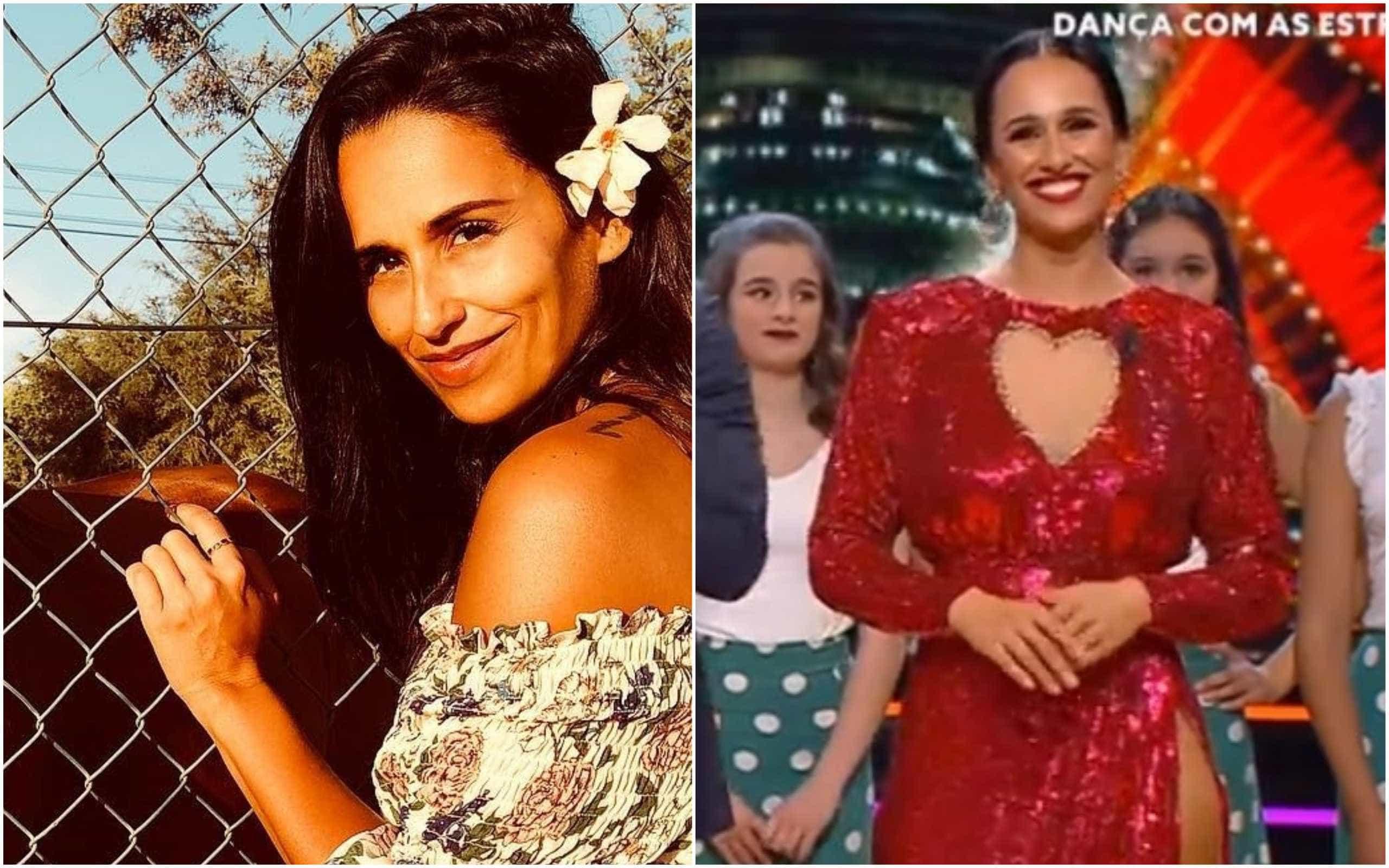 Homenagem ao amor: Rita Pereira brilha com vestido vermelho e super racha