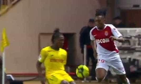 O toque magistral de Gelson Martins que deixou o AS Monaco aos seus pés