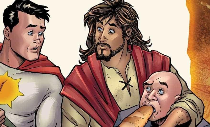 Cancelados comics em que Jesus Cristo era um super-herói