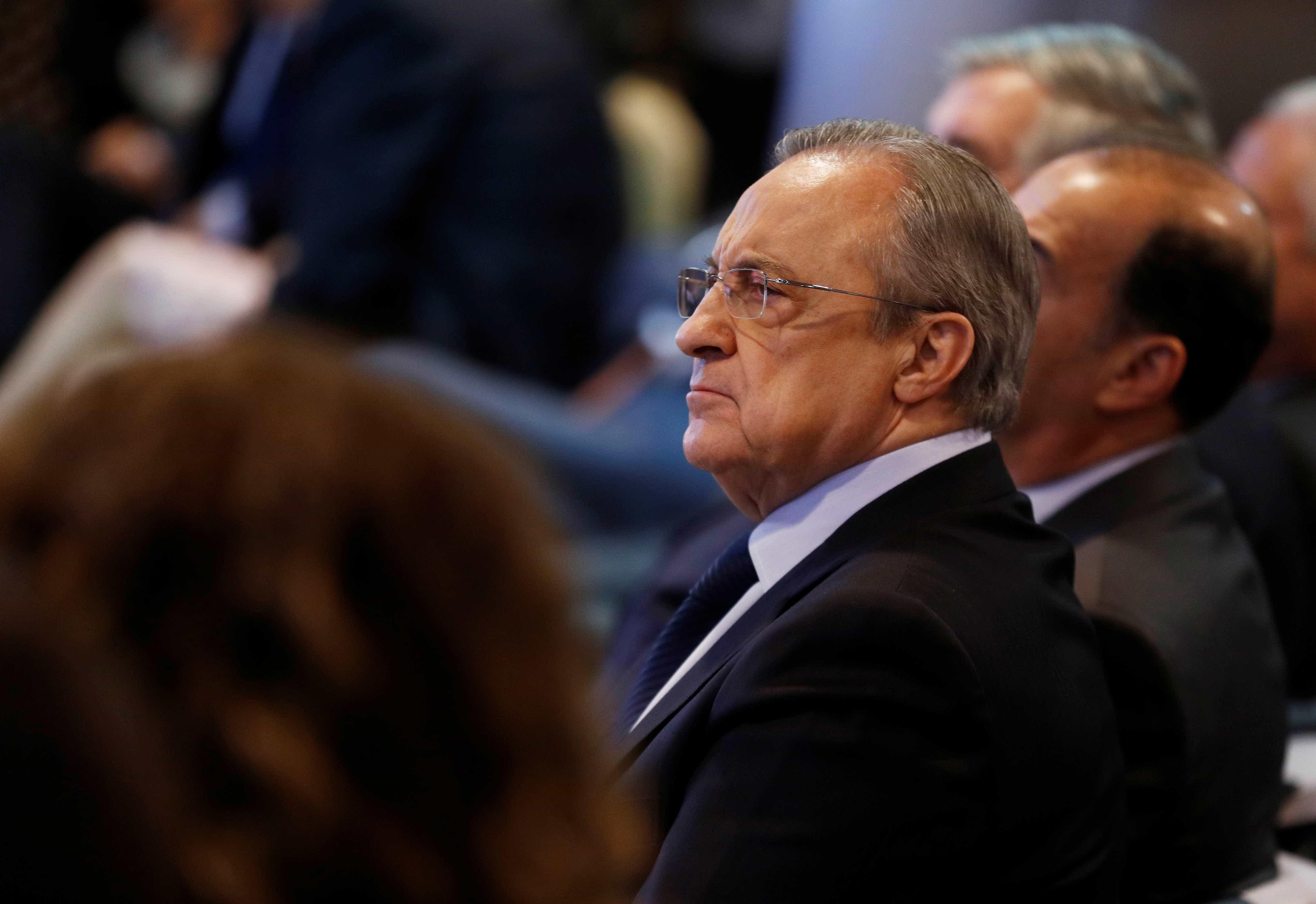 Jornalista 'pica' Florentino Pérez sobre Hazard e a resposta foi esta