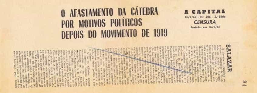 'Corte-se…': Exposição sobre a censura em destaque em Torres Vedras