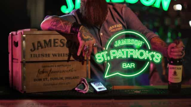 Jameson St. Patrick's Bar: Primeiro Whatsapp Bar do mundo, está de volta