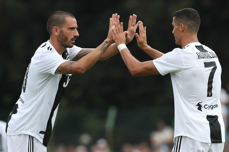 """Bonucci e a chegada de CR7 à 'Juve': """"Na altura não me pareceu nada bem"""""""