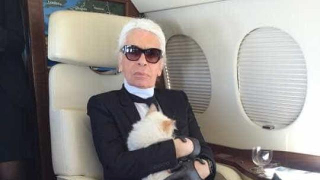 Gata de Karl Lagerfeld pode herdar parte da sua fortuna? Sim, é possível