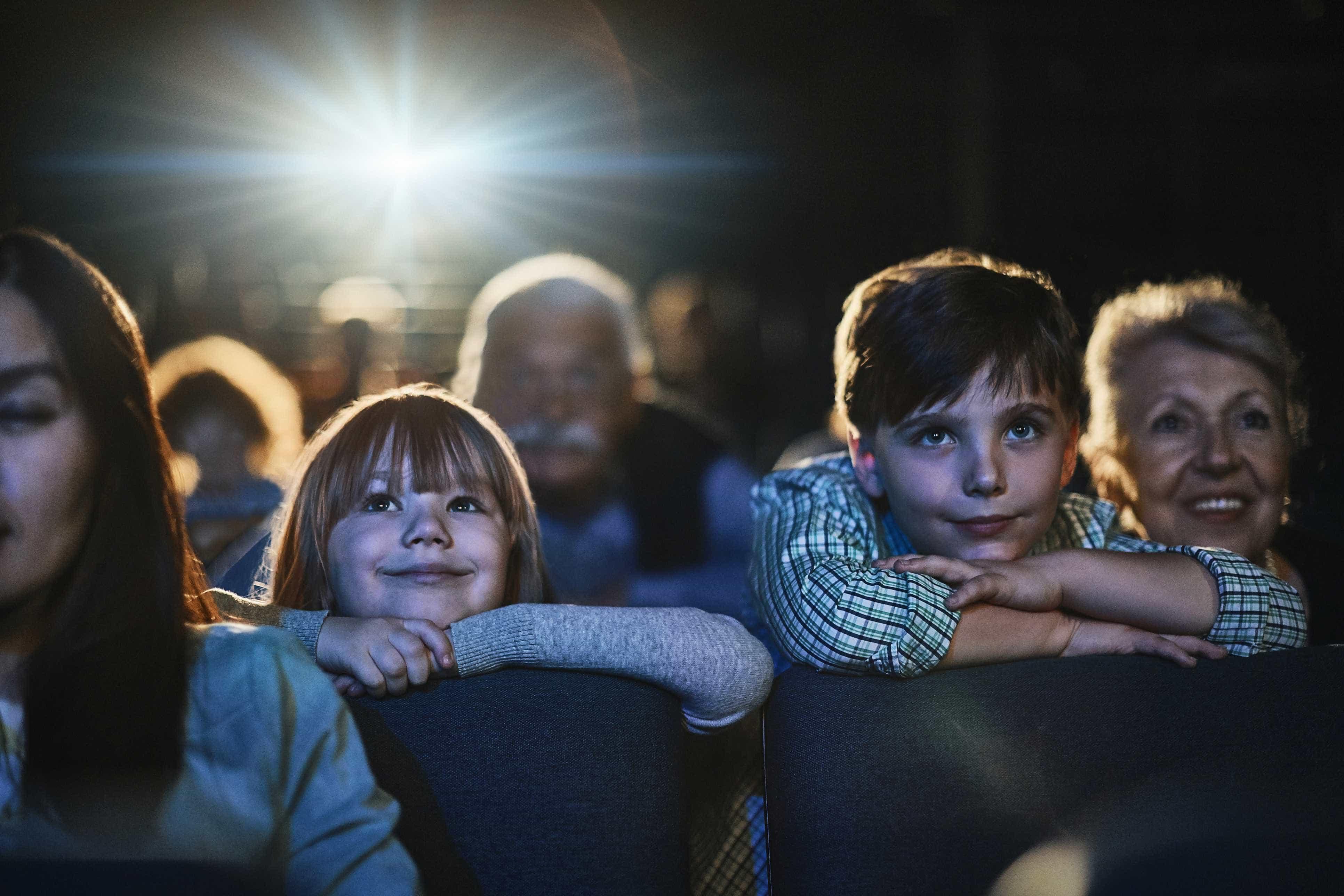 Sessão de cinema gratuita para miúdos e graúdos