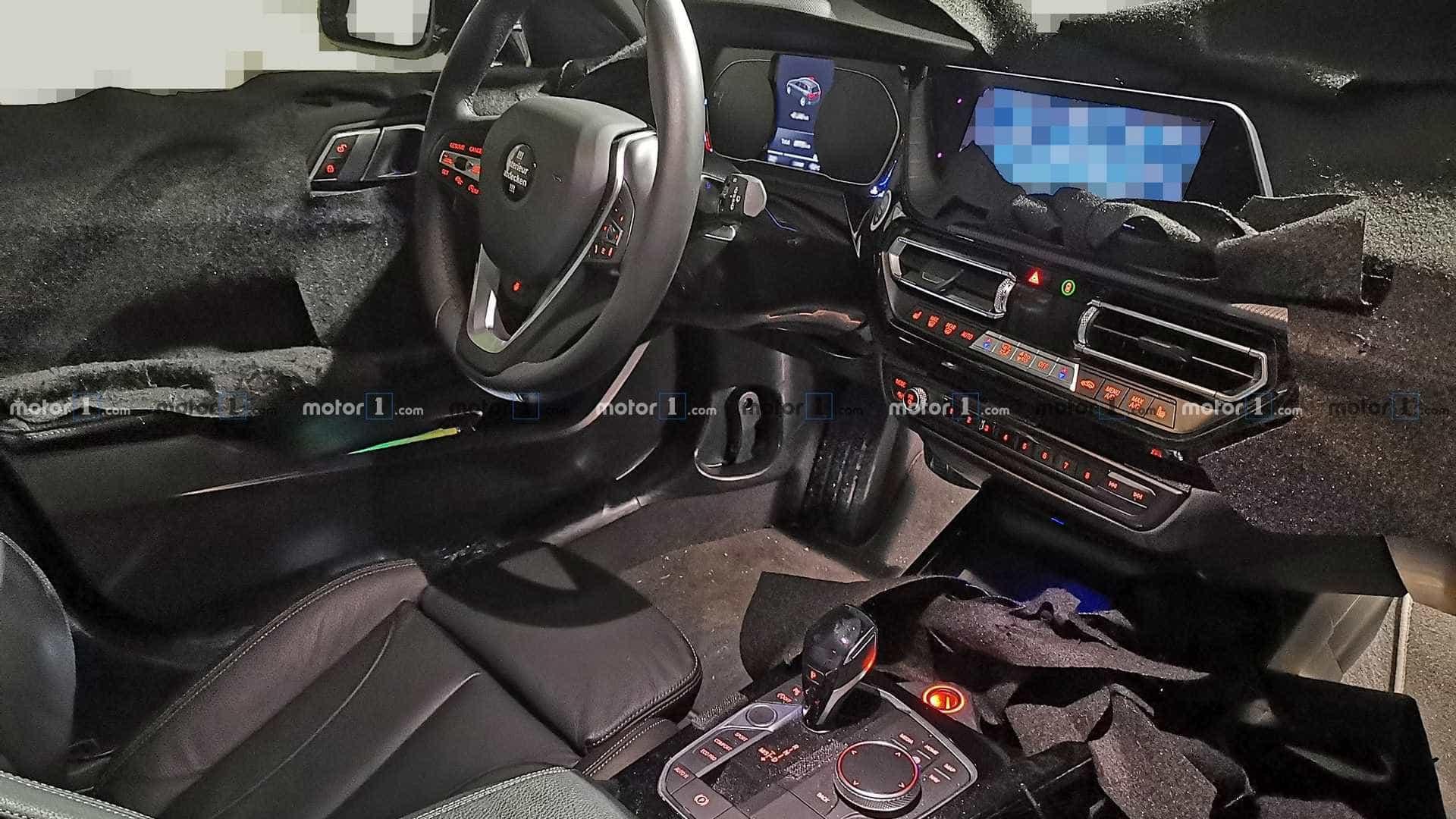 Fuga de imagens: O interior do novo BMW Série 1 deverá ser assim