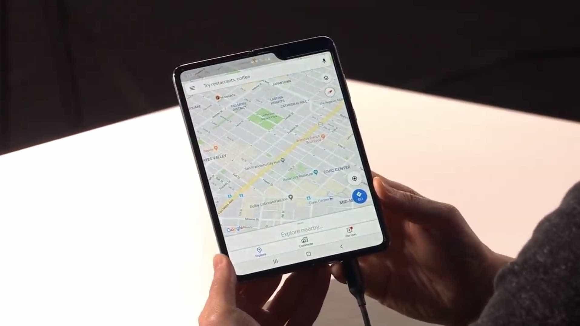 Galaxy Fold. Aqui está o smartphone dobrável da Samsung