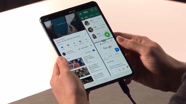 Samsung cancelou eventos promocionais do Galaxy Fold