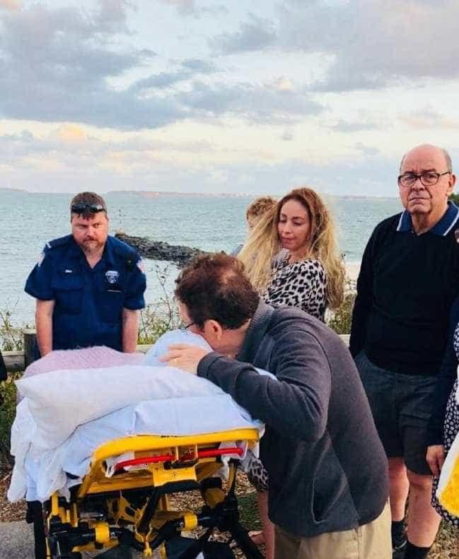 Dois dias antes de morrer, idosa pôde cumprir último desejo na praia