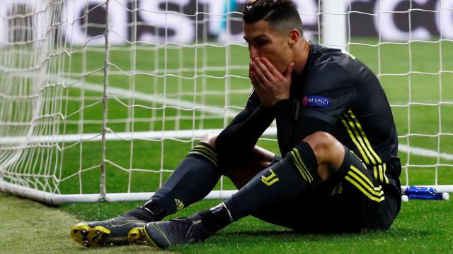 Cristiano Ronaldo foi um dos... piores frente ao Bolonha