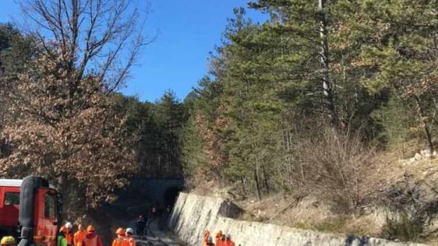 Português morre na Suíça vítima de desabamento de túnel