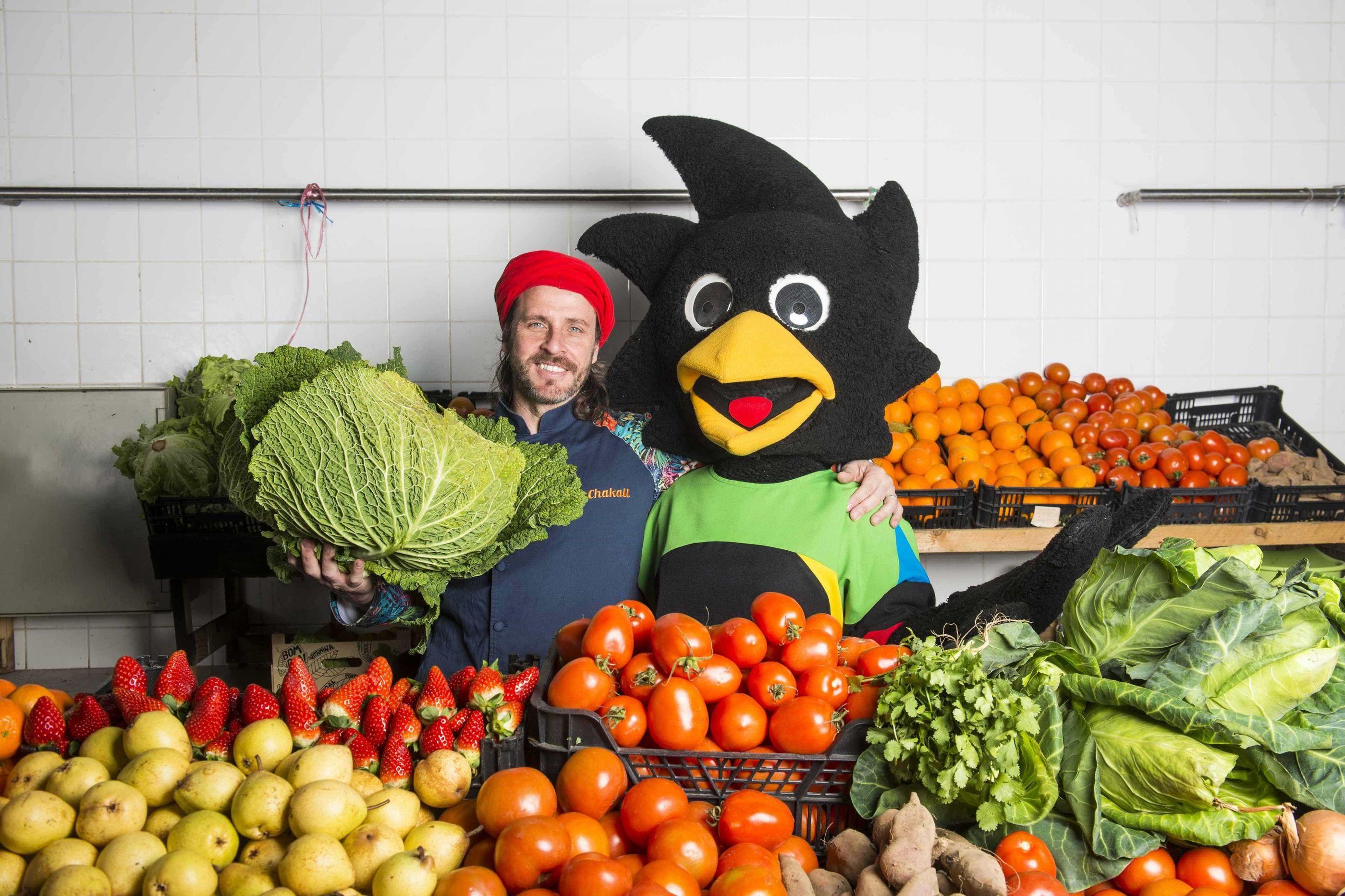 Olisipíadas e chef Chakall promovem workshops de comida saudável