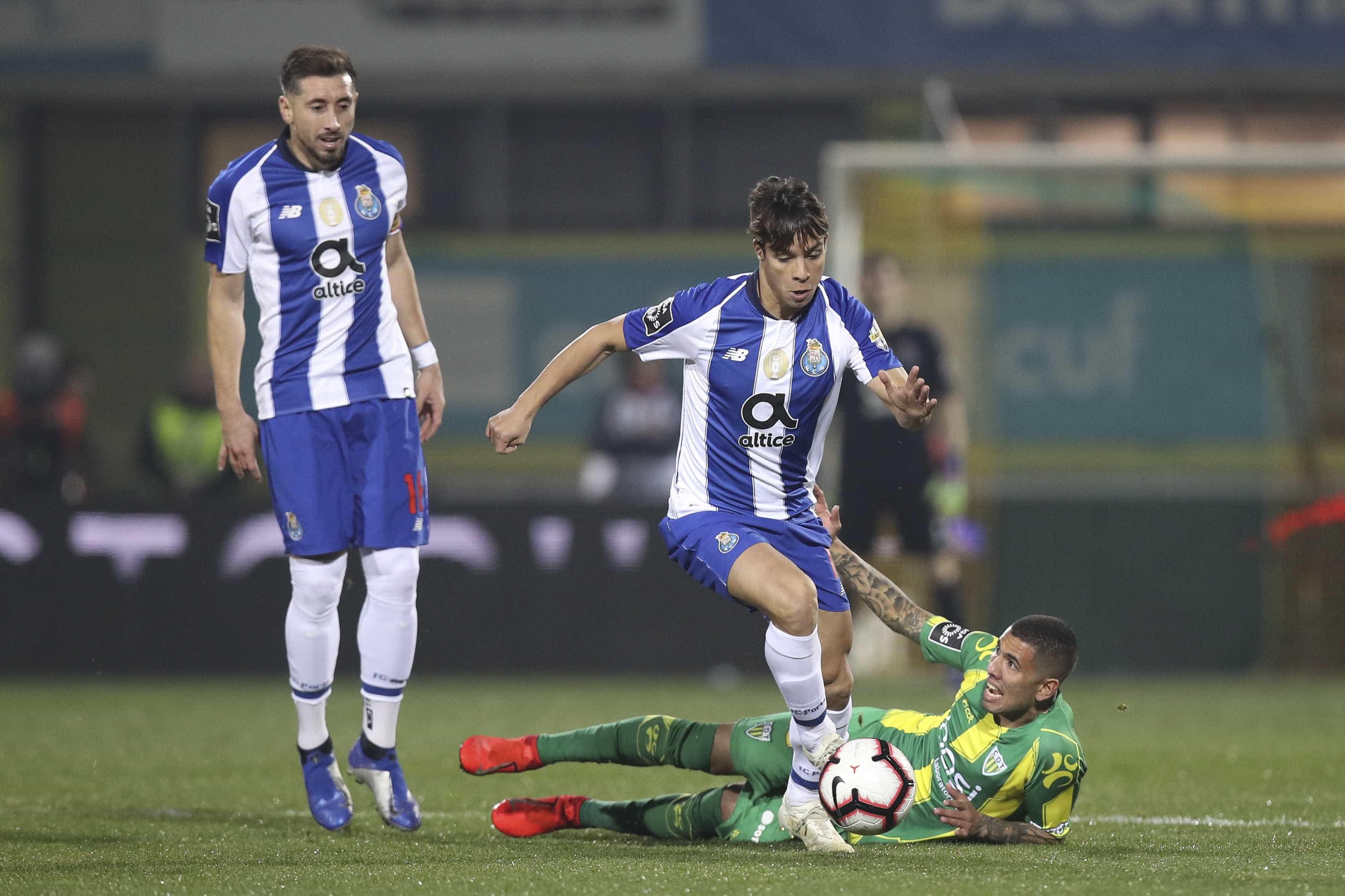 [0-3] Tondela-FC Porto: Herrera faz mais um e sentencia o jogo