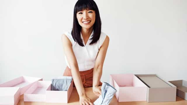 Guru da arrumação Marie Kondo dá cinco dicas para ser mais produtivo