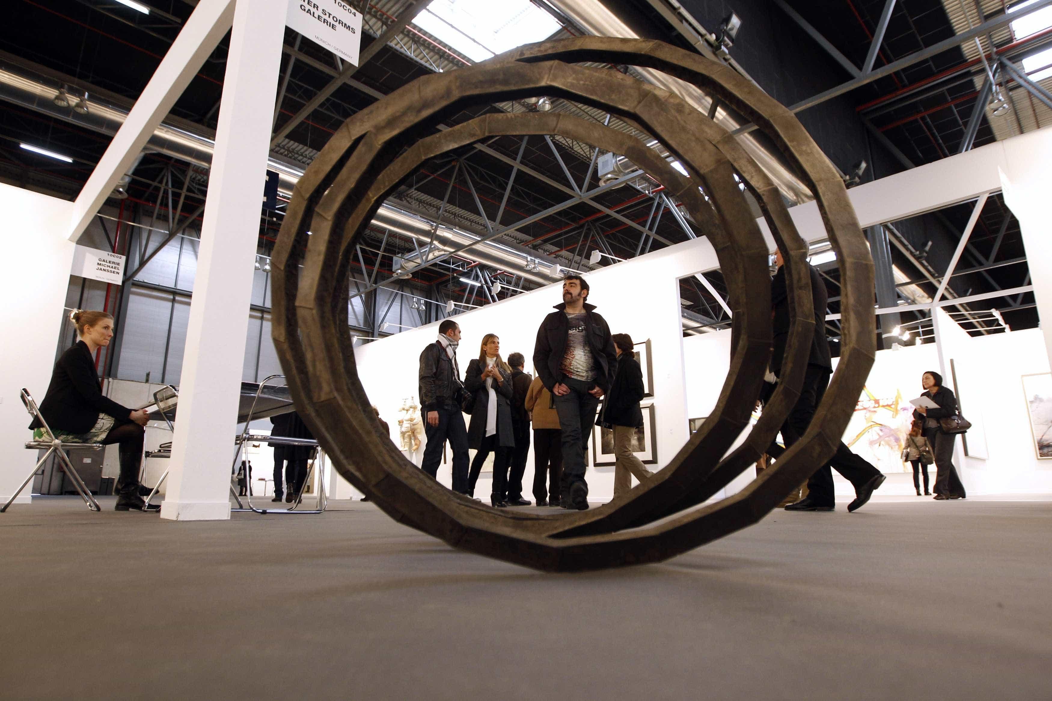 Escultura com imagem do rei de Espanha lança polémica na ARCOmadrid