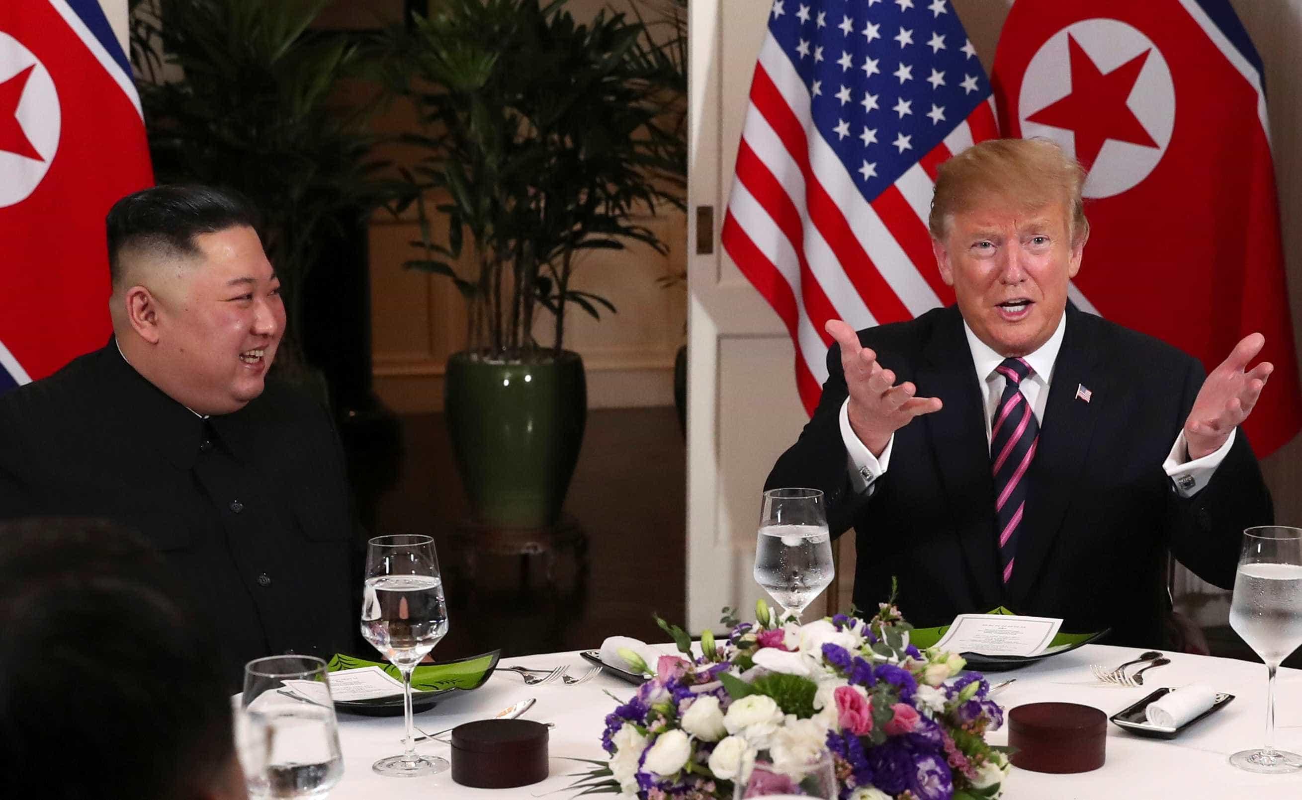 """Trump admite """"possíveis futuras reuniões"""" com Kim Jong-un"""