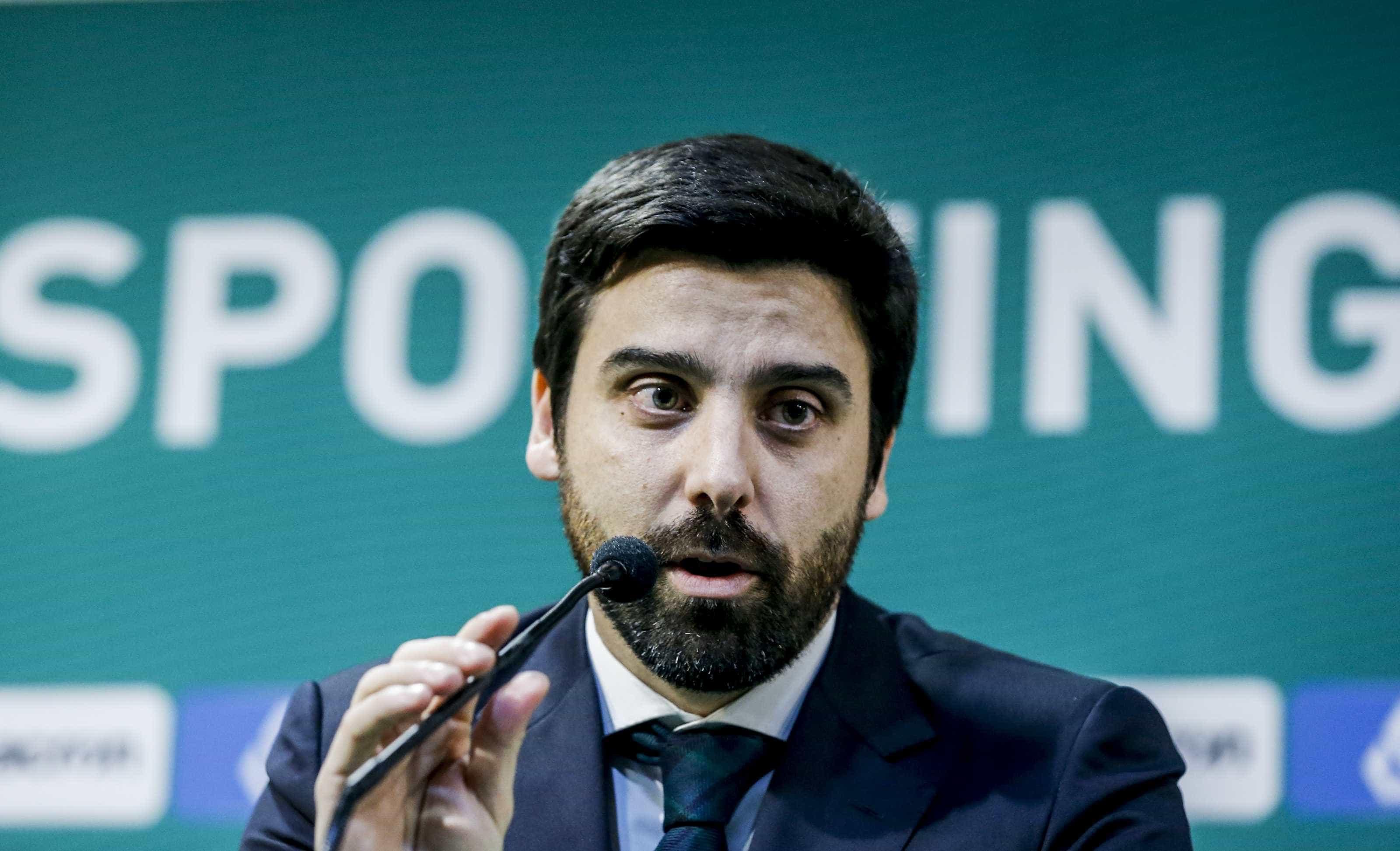 Salgado Zenha garante que Sporting não precisa de vender jogadores