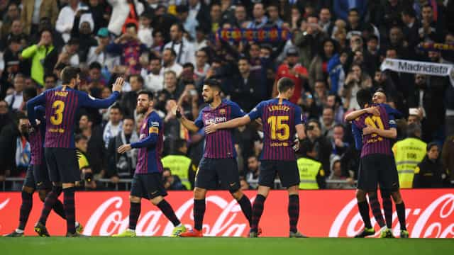 Suaréz imperial resolve no Bernabéu. Barça está na final da Taça do Rei