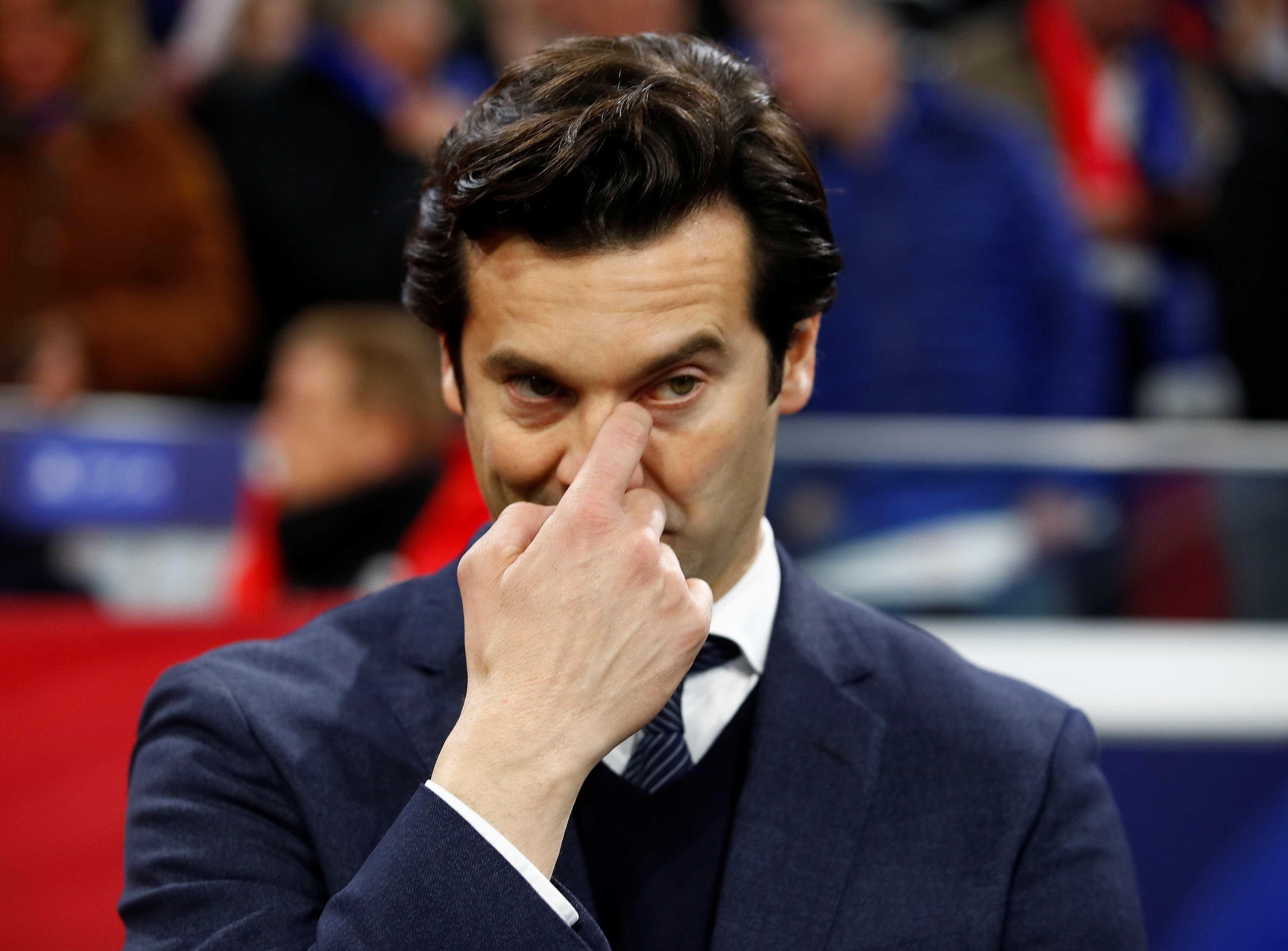 Solari também sentiu a fúria dos adeptos do Real Madrid