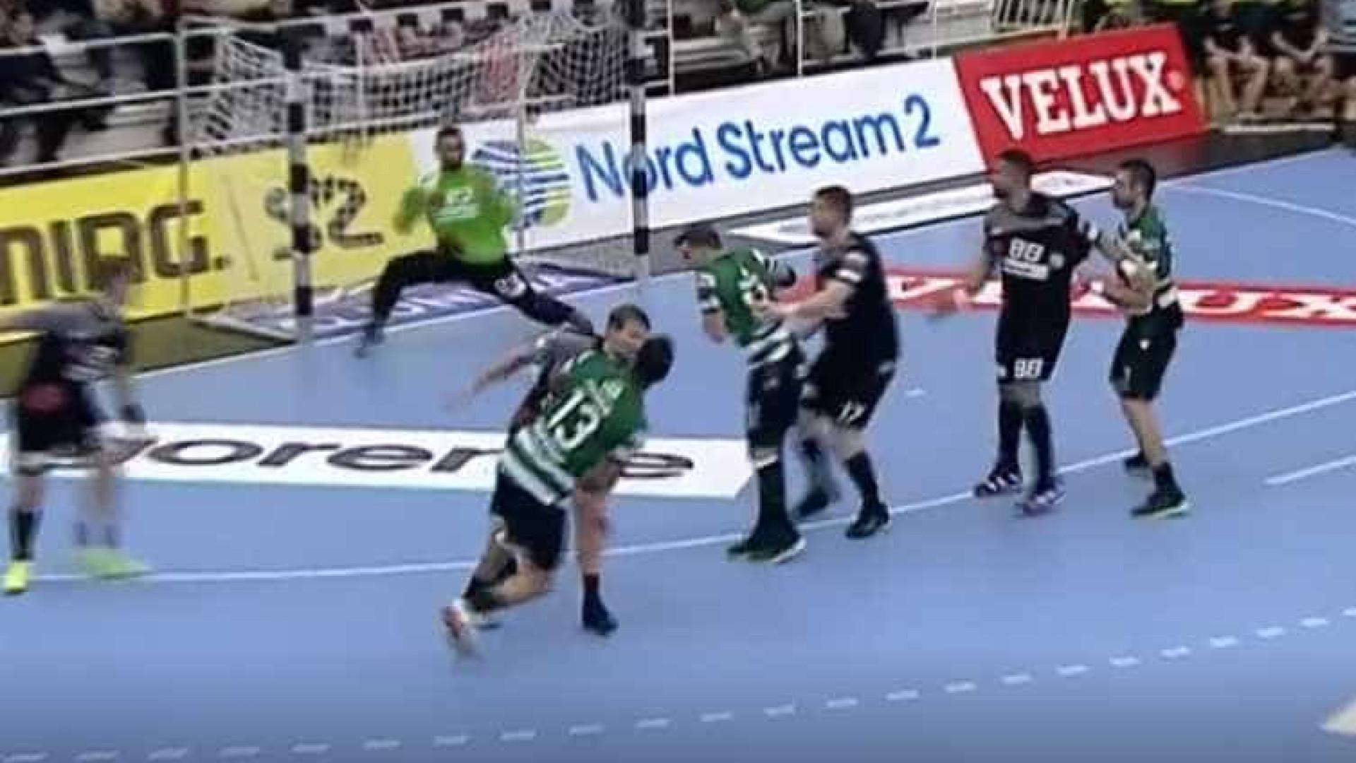 b29ca34c8d5a7 Incrível golo de Frankis Carol na vitória histórica do Sporting